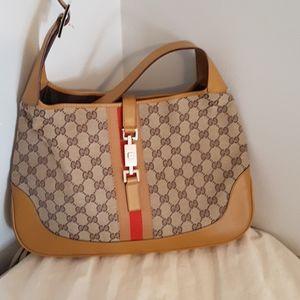 Gucci Vintage Jackie O Shoulder Bag